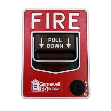 GAMEWELL FCI MS-7AF MANUAL FIRE ALARM PULL STATION FREE FEDEX 2-DAY SHIP
