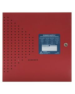 Fire-Lite FCPS-24FS6 Field Charging Power Supply in Red Cabinet [NEW]