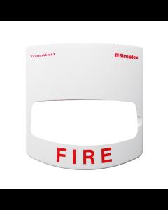 Simplex 4905-9993 White Cover for V/O Strobe