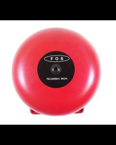 FOS 4416L-6-14-4-60 6 inch 4v 2.5amp Red Bell