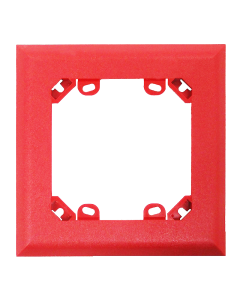 Gentex Trim Plate Red (4-Pack)