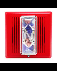 Edwards EST 757-8A-SS25 Synchronized Speaker-Strobe (Red)