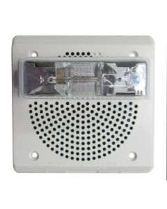 Wheelock ET70WP-2475W-FW Weatherproof Speaker Strobe (White)