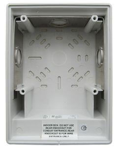 Edwards EST G4B Surface Back Box (White)
