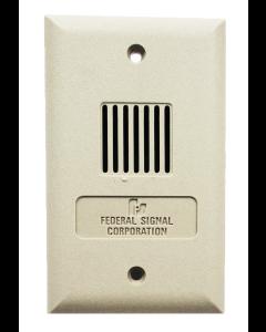Federal SIgnal MSHP-25SGB Powertone High Power Mini-Speaker (White)