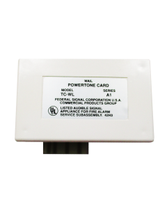 Federal Signal TC-WL Powertone Card