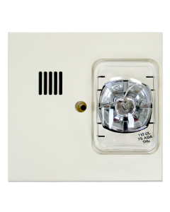 Cerberus Pyrotronics U-MMT-S75-W-C Multi-tone Signal w/ Strobe