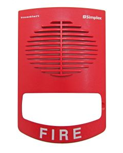 Simplex 4905-9996 Red Wall Mount SV Replacement Cover