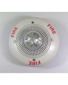 System Sensor White Ceiling Speaker/Strobe